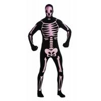 Костюм на скелет. Карнавален костюм за Мъж, Размер: XL