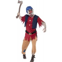 Зомби костюм за мъж. Карнавален костюм за Мъж, Размер: L