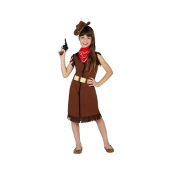 Костюм на каубойка. Карнавален костюм за Момиче, Възраст: 3-4 години