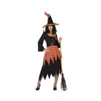 Костюм на вещица за жена. Карнавален костюм за Жена, Размер: XS/S