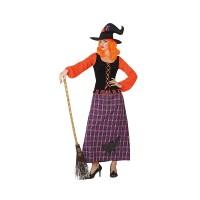 Костюм на вещица за жена. Карнавален костюм за Жена, Размер: XL