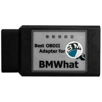 BMWhat IOS - 49 Bluetooth OBD OBD2 Диагностичен адаптер за БМВ