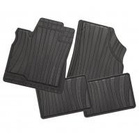 Carfashion 229664Всесезонни гумени стелки за автомобил-черни