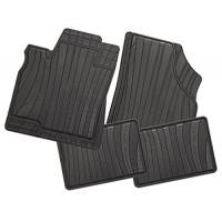 Carfashion 229734Всесезонни гумени стелки за автомобил-черни, за BMW 3er (F30) Limousine  -  02/2012-00/0000  -  Typ 3L