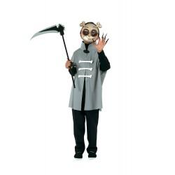 Костюм на скелет. Карнавален костюм за Момче, Възраст: 5-10 години