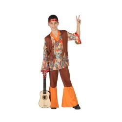 Костюм на хипи. Карнавален костюм за Момче, Възраст: 7-9 години
