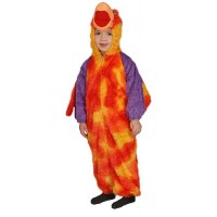 Костюм на папагал за деца. Карнавален костюм за Деца, Възраст: 12-14 години