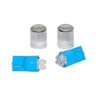 EUFAB 13460 Интериорни лед крушки T10 4x Blue LEDs