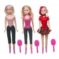1 кукли високи 76 см с включени принадлежности за прически