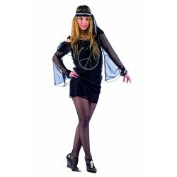 Карнавален костюм секси Хипи за жена. Карнавален костюм за Жена, Размер: M