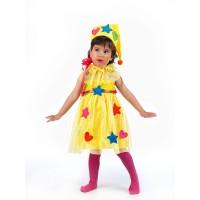 Цветна фея костюм за момиче. Карнавален костюм за Момиче, Възраст: 3-5 години