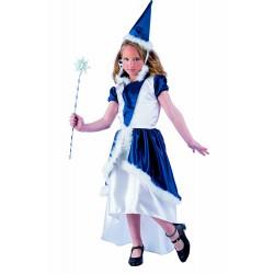 Костюм на вълшебница за момиче. Карнавален костюм за Момиче, Възраст: 7-9 години