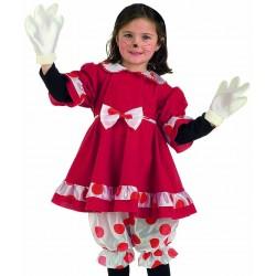 Костюм Мишка комплект от 4 части панталони, рокля, тиара, ръкавици). Карнавален костюм за Момиче, Възраст: 2 години