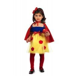 Костюм на Снежанка. Карнавален костюм за Момиче, Възраст: 5-7 години