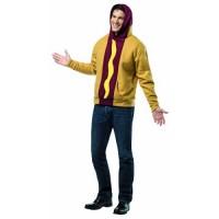 Костюм на Хот Дог. Карнавален костюм за Мъж, Размер: L