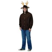 Костюм на елен. Карнавален костюм за Мъж, Размер: XL