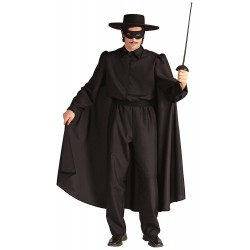 Костюм на Зоро. Карнавален костюм за Мъж, Размер: S