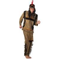 Костюм на индианец за мъже. Карнавален костюм за Мъж, Размер: M