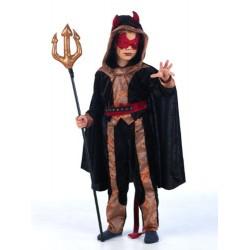 Костюм на дявол за момче. Карнавален костюм за Момче, Възраст: 7 години