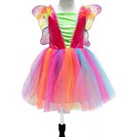 Рокля на феята на дъгата. Карнавален костюм за Момиче, Възраст: 3-4 години