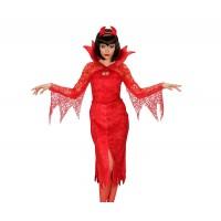 Костюм на дявол за жена. Карнавален костюм за Жена, Размер: M