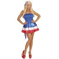 Карнавален костюм мис Франция. Карнавален костюм за Жена, Размер: M