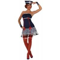 Секси рокля на моряк за жена. Карнавален костюм за Жена, Размер: XL