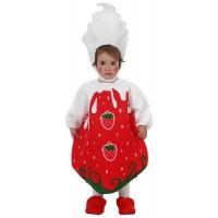 Костюм на ягода за бебе. Карнавален костюм за Бебе, Възраст: 0-6 месеца