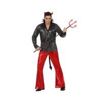 Костюм на дявол за мъж. Карнавален костюм за Мъж, Размер: XL