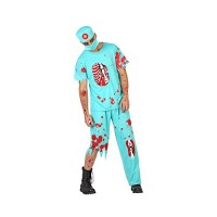 Костюм на зомби за доктор. Карнавален костюм за Мъж, Размер: XL