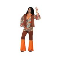 Костюм на хипи. Карнавален костюм за Мъж, Размер: XS/S