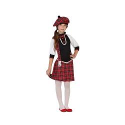 Костюм на шотландка. Карнавален костюм за Момиче, Възраст: 8 години