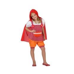 Костюм на Червената шапчица за момиче. Карнавален костюм за Момиче, Възраст: 4-5 години