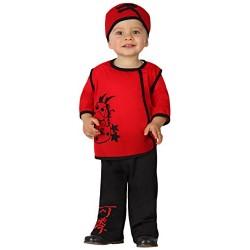 Костюм на китаец за бебе. Карнавален костюм за Момче, Възраст: 0-6 месеца