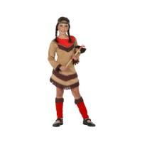 Костюм на индианка. Карнавален костюм за Момиче, Възраст: 4-5 години