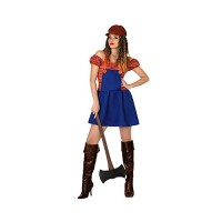 Костюм на дърварка за жена. Карнавален костюм за Жена, Размер: L/XL