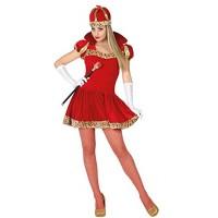 Рокля на кралица. Карнавален костюм за Жена, Размер: XS/S
