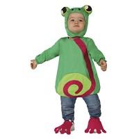 Костюм на жаба за бебе. Карнавален костюм за Бебе, Възраст: 0-6 месеца