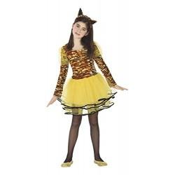 Костюм на тигър за момиче. Карнавален костюм за Момиче, Възраст: 6 години
