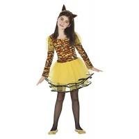 Костюм на тигър за момиче. Карнавален костюм за Момиче, Възраст: 8 години