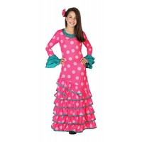 Рокля за фламенко за момиче. Карнавален костюм за Момиче, Възраст: 4-5 години