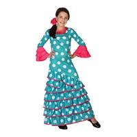 Рокля за фламенко за момиче. Карнавален костюм за Момиче, Възраст: 4 години