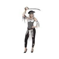 Костюм на пират. Карнавален костюм за Жена, Размер: XS/S