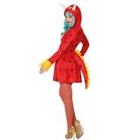 Дамска костюм секси дракон. Карнавален костюм за Жена, Размер: XS/S