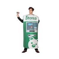 Костюм на банкомат за мъже. Карнавален костюм за Мъж, Размер: M