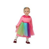 Рокля на клоун за момиче. Карнавален костюм за Момиче, Възраст: 0-6 месеца