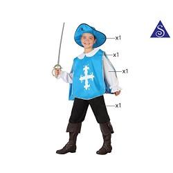 Костюм на мускетар за момче. Карнавален костюм за Момче, Възраст: 9 години