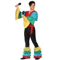 Костюм за самба за мъж. Карнавален костюм за Мъж, Размер: M/L