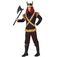 Костюм на викинг за мъже. Карнавален костюм за Мъж, Размер: M/L