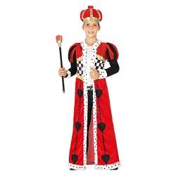 Костюм на крал на сърцата. Карнавален костюм за Момче, Възраст: 8 години